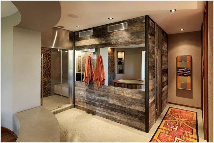 Интериор на банята от Birdseye Design