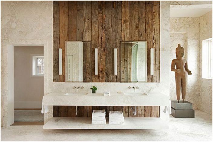 Интериор на банята от Франк де Биаси Интериор