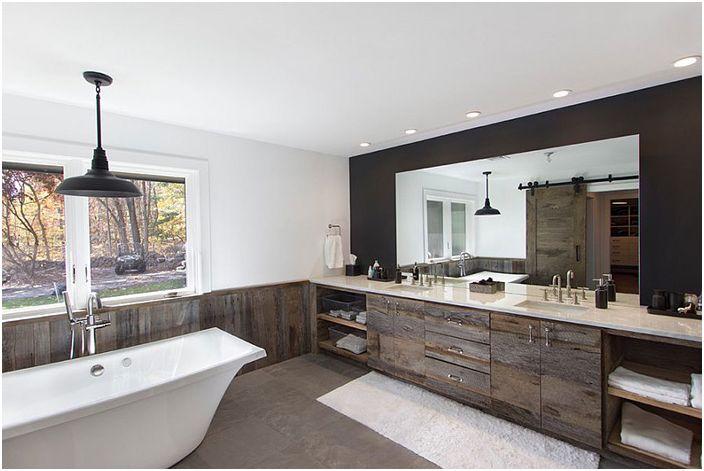 Интериор на банята от Cousins / Bennet Frank McCarthy Architects