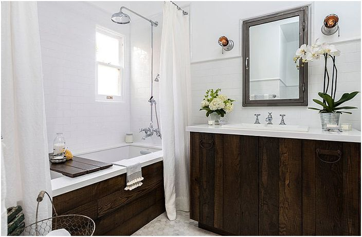 Интериор на банята от Лаура Шварц-Мюлер