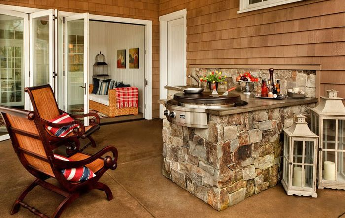 Grillowanie kebabów: idealne miejsce na piknik w domu