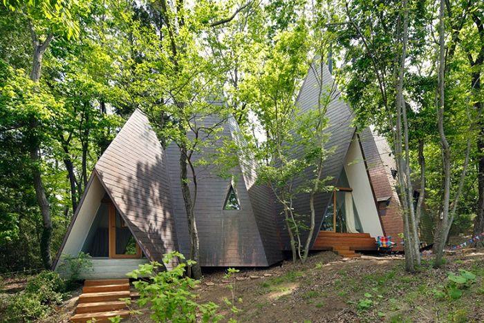 Projekt architektoniczny Hiroshi Nakamura.