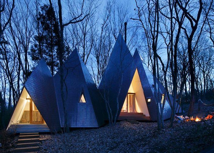 Селска къща от архитекта на Йон Хироши Накамура.
