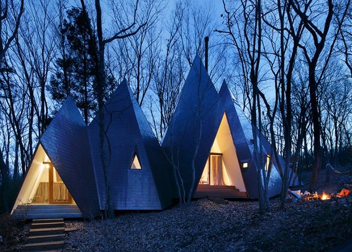 Dom na wsi od architekta z Yaon Hiroshi Nakamura.