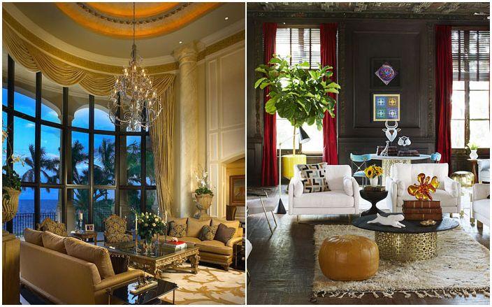Златен прилив в интериора: 30 луксозни маси за кафе за модерния хол