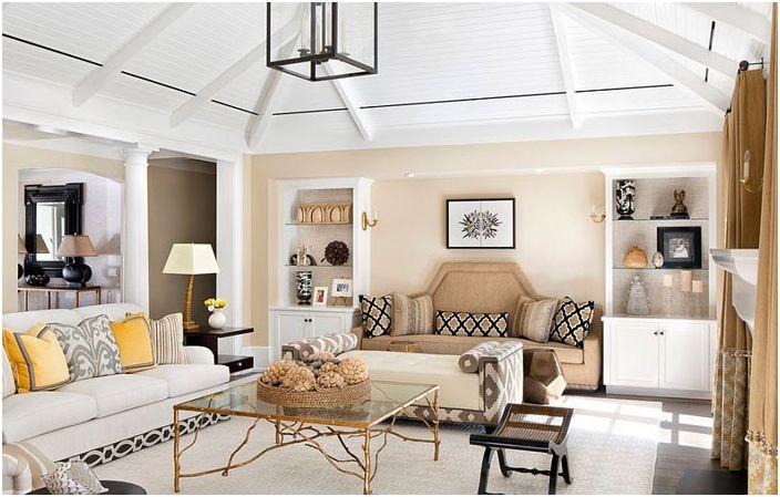 Интериор на хола от Weaver Design Group