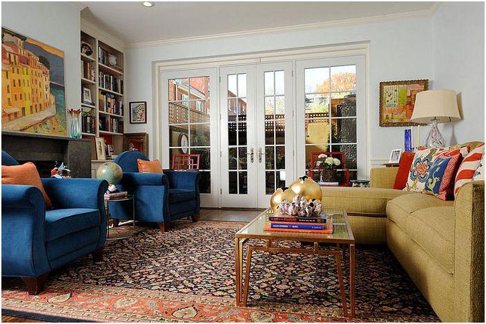 Интериор на хола от Kelly Nelson Designs