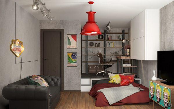 Bedroom + Cabinet-666-9