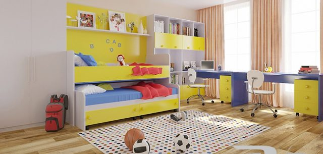Design- and- interior- of- a- children's- room- for - boys-13