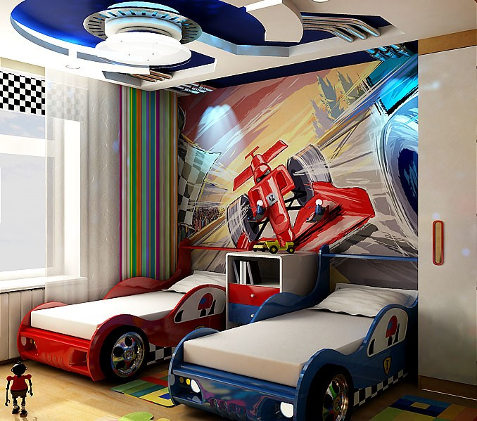 Design- and- interior- of- a- children's- room- for - boys-14