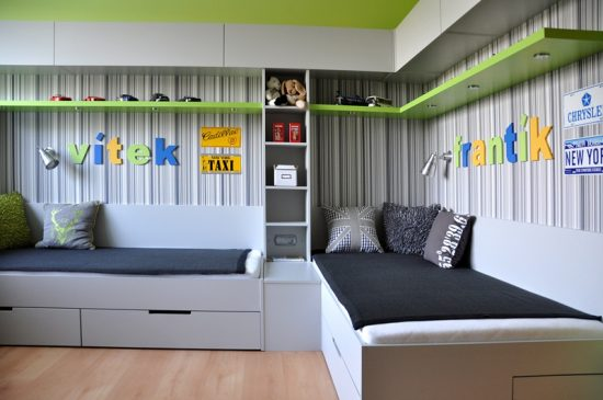 Design- and- interior- of- a- children's- room- for - boys-16