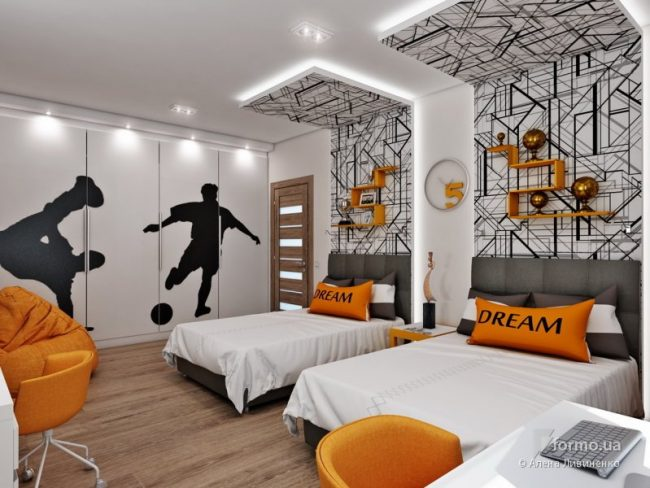 Design- and- interior- of- a- children's- room- for - boys-2