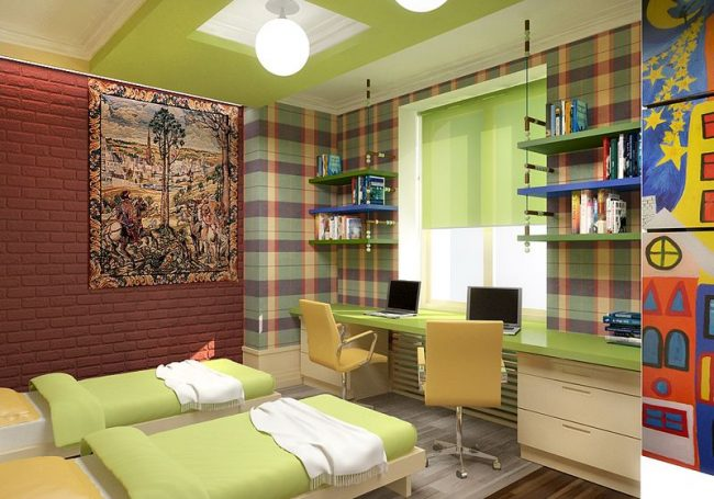 Design- and- interior- of- a- children's- room- for - boys-3