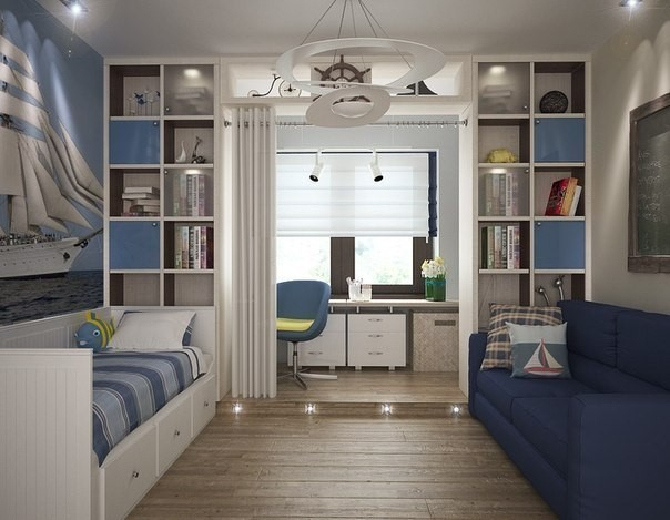 Design- and- interior- of- a- children's- room- for - boys-5