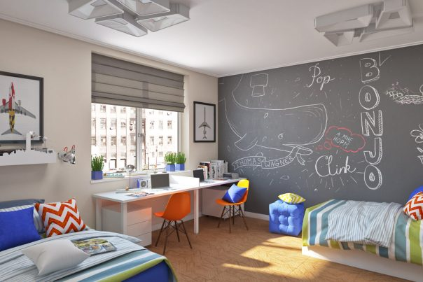 Design- and- interior- of- a- children's- room- for - boys-6