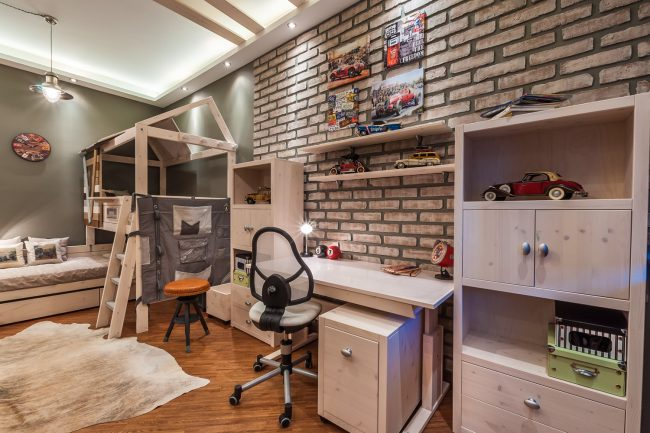 Design- and- interior- of- a- children's- room- for - boys-7