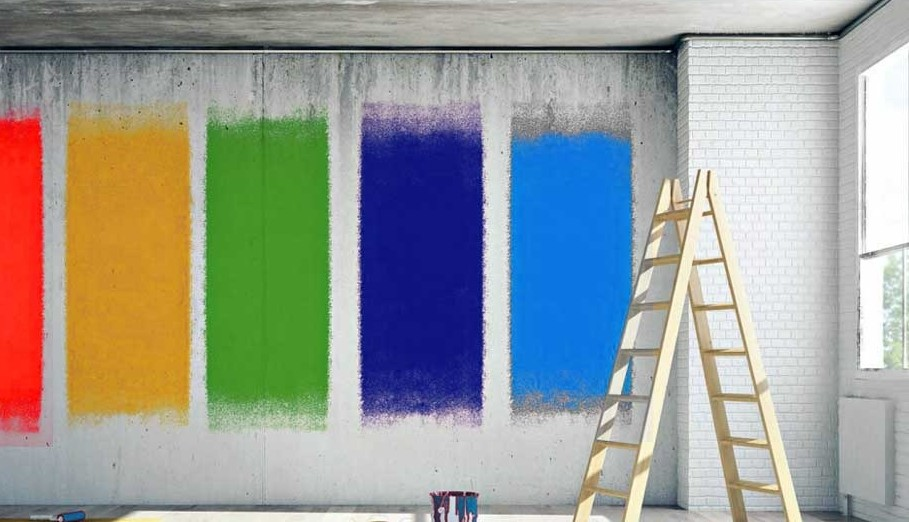 Comment choisir une couleur de peinture murale