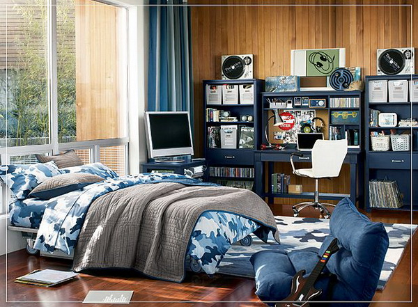 How -to- decorate- the- bedroom -of- a- teenage- boy's- bedroom-1