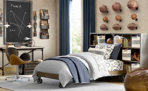 How -to- decorate- the- bedroom -of- a- teenage- boy's- bedroom-10