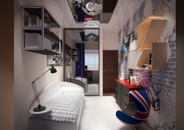 How -to- decorate- the- bedroom -of- a- teenage- boy's- bedroom-2