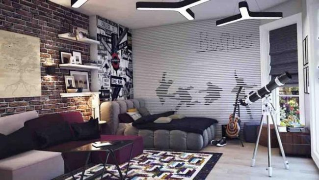 How -to- decorate- the- bedroom -of- a- teenage- boy's- bedroom-3