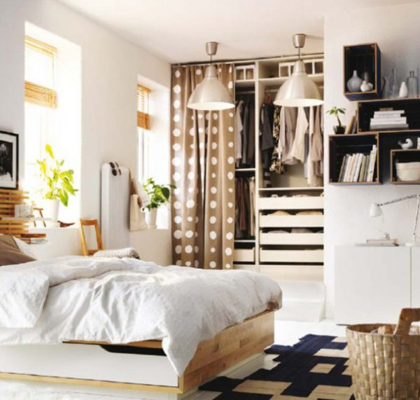 How- to- equip- a -dressing -room -in- a -small- bedroom-11