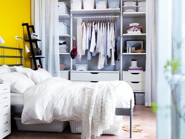 Как да оборудвам - облекло - стая - в - а - малка - спалня - 4