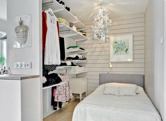 Как да оборудвам - облекло - стая - в - а - малка - спалня - 6