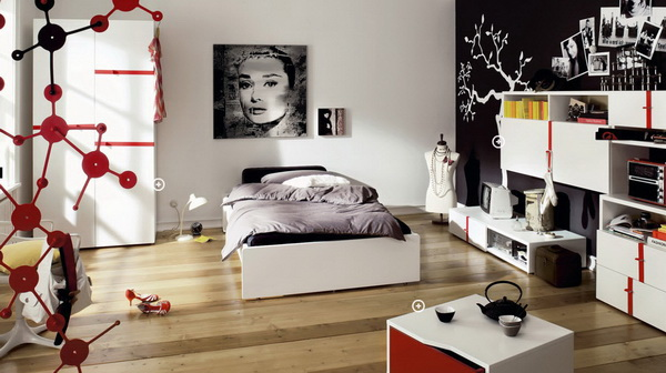 Interior- design -of- a room -for - teenager-8