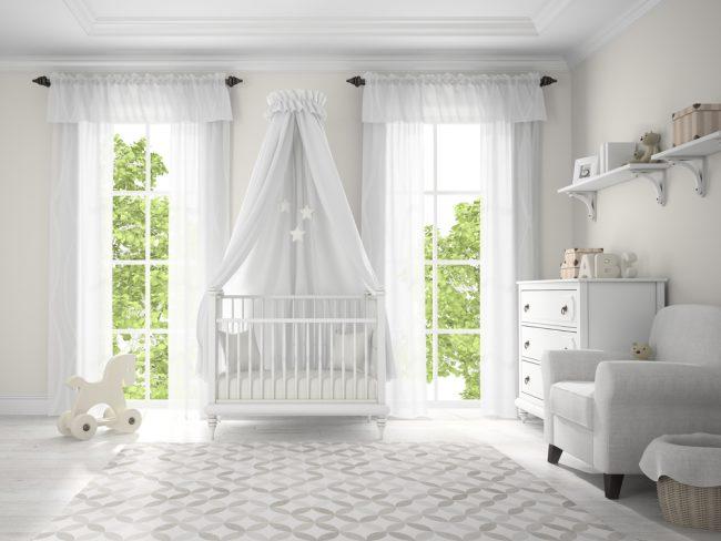 Classic children room