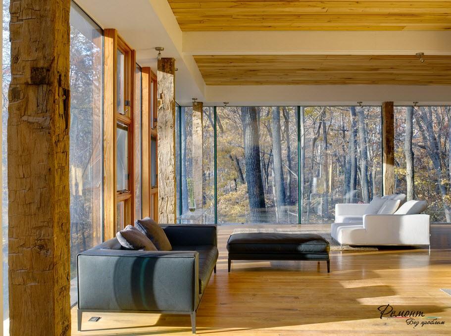 Beautiful glass houses