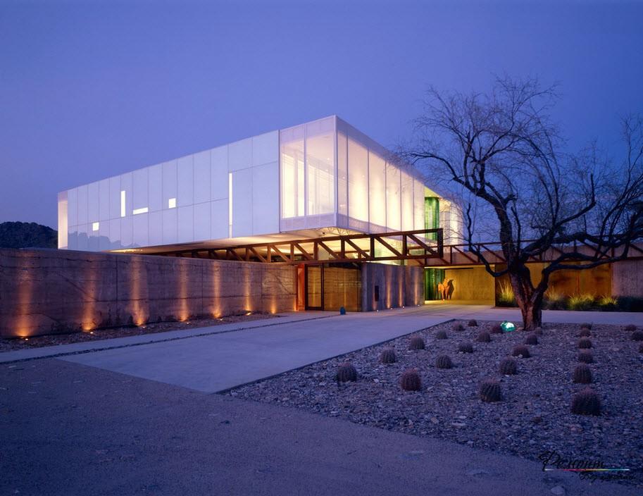 Beautiful glass houses, photo