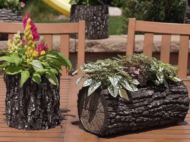 Градина - саксии за цветя - най-добрите идеи-1