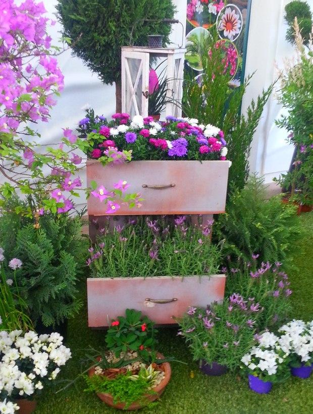 Градина - саксии за цветя - най-добрите идеи-10-1
