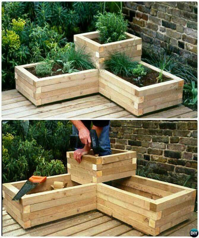 Градина - саксии за цветя - най-добрите идеи-10-2