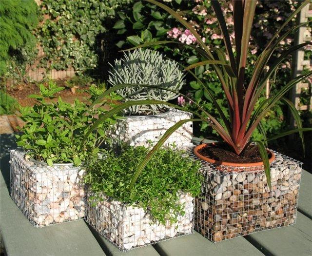Градина - саксии за цветя - най-добрите идеи-2