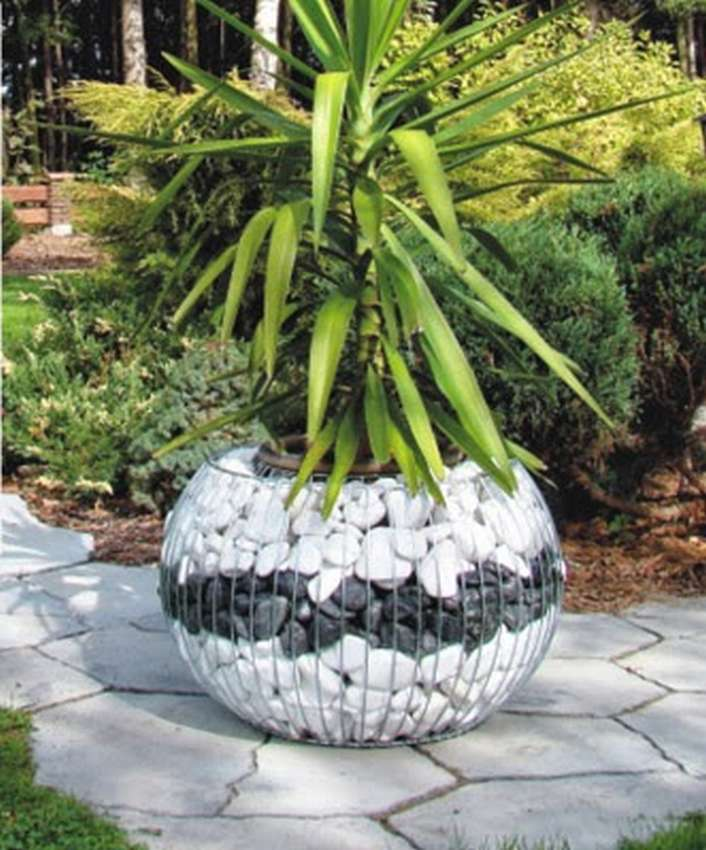 Градина- саксии за цветя- най-добри идеи-3-4