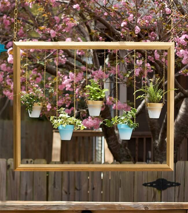 Градина - саксии за цветя - най-добрите идеи-4
