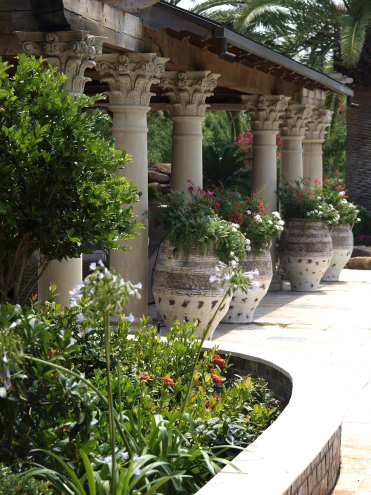 Градина - саксии за цветя - най-добрите идеи-6
