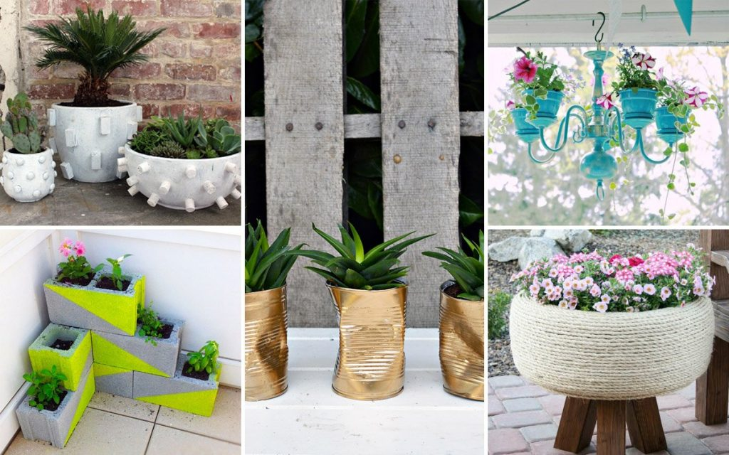 Градина - саксии за цветя - най-добрите идеи-999-13