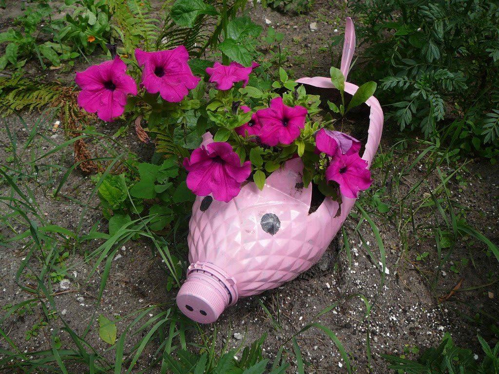 Градина - саксии за цветя - най-добрите идеи-999-3