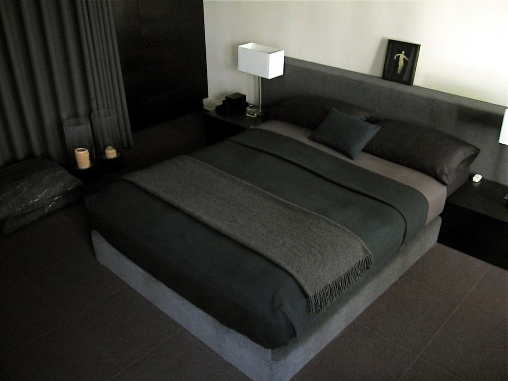 Как да проектираме минималистична спалня за мъже