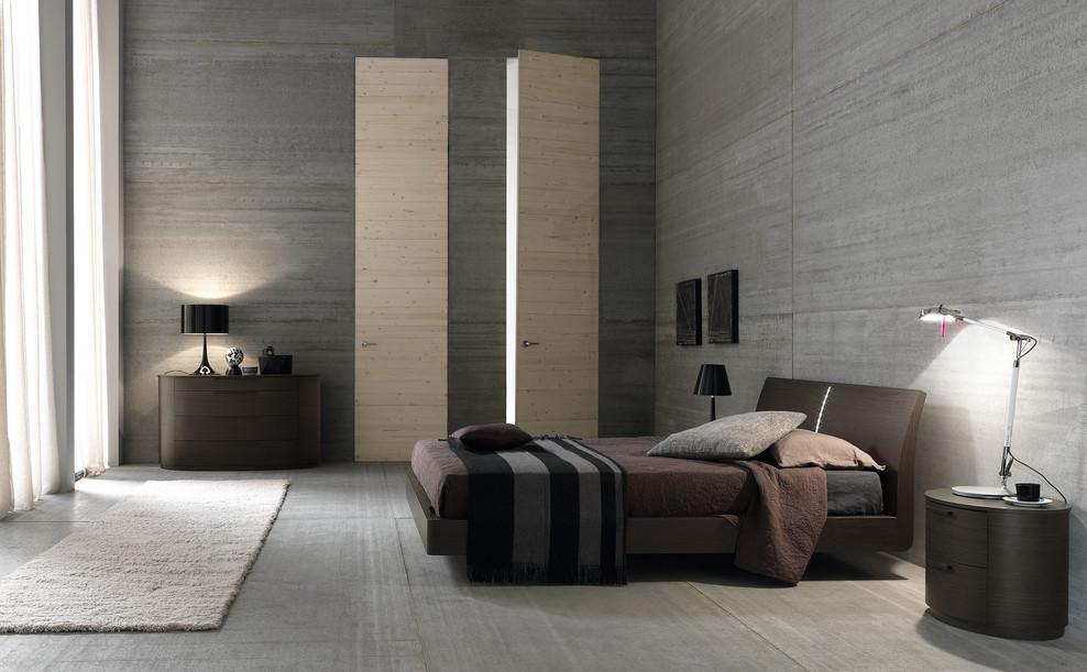 Как оформить мужскую спальню в стиле минимализм