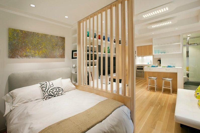 Дизайн на едностаен апартамент