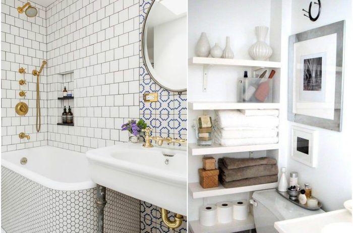 10 gode ideer til et lite bad som vil overraske og inspirere