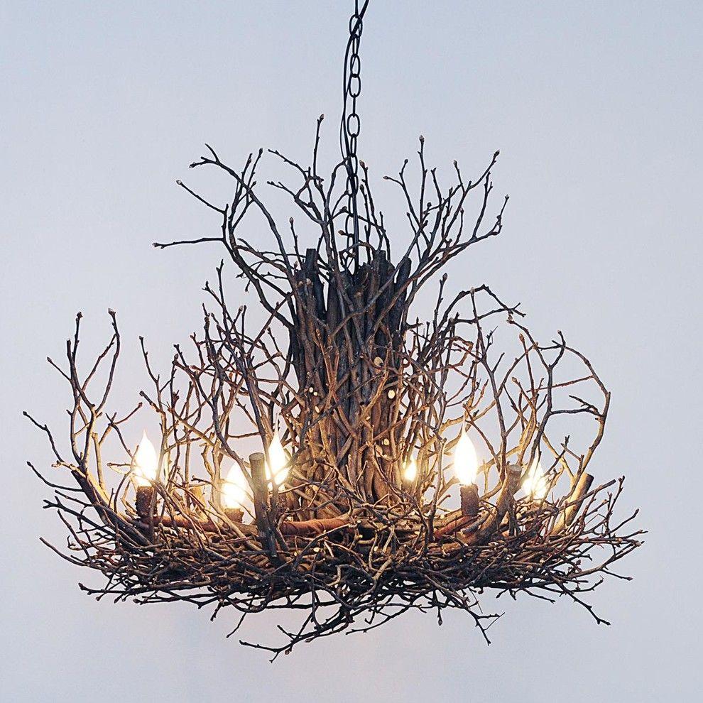 Умопомрачительная подвесная люстра в интерьере от Shades of Light