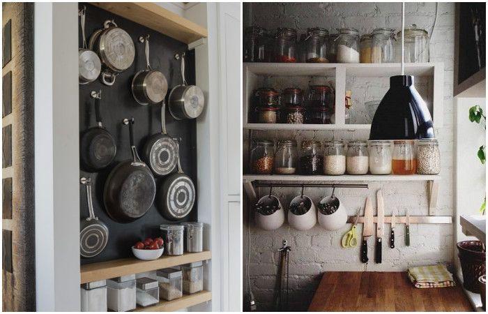 Не е нужно да криете кухненските си прибори.