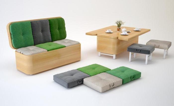 Трансформирането на мебели никога няма да се отегчи.