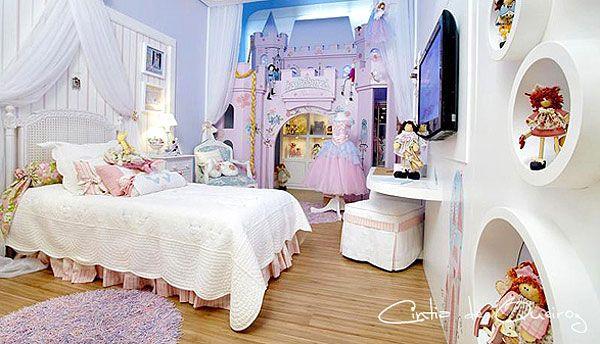 4belosnegka 10 kolorowych pomysłów na tematyczny pokój dla dwóch dziewczynek