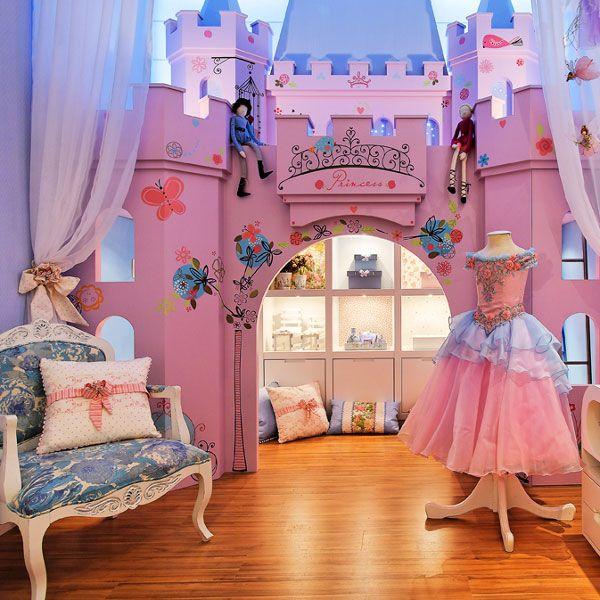 4belosnegka2 10 kolorowych pomysłów na tematyczny pokój dla dwóch dziewczynek